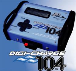 DIGI-CHARGE 104 Charger/Discharger Li-PO,NiCd, NiMh, Lead-Acid 12/220В (HP3712)