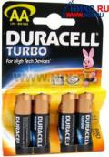 Батарейка DURACELL PLUS (Turbo) (AA)